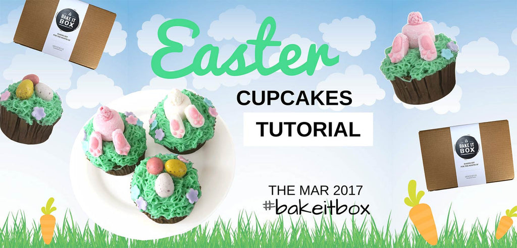 Easter cupcakes | Step-by-step tutorial