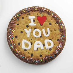 Fondant message template - I ♥ you dad
