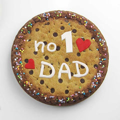 Fondant message template - No. 1 dad