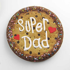 Fondant message template - Super dad