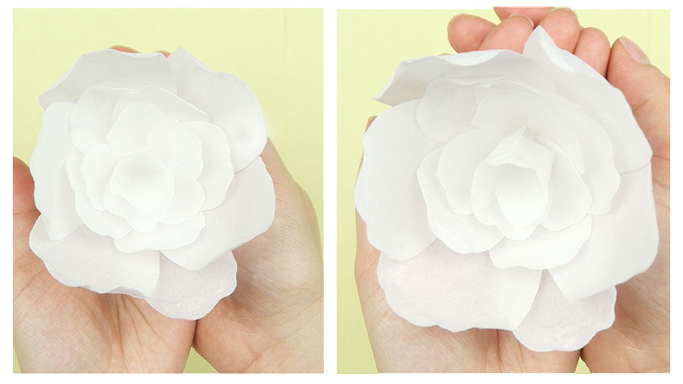 Pretty Wafer Paper Flower