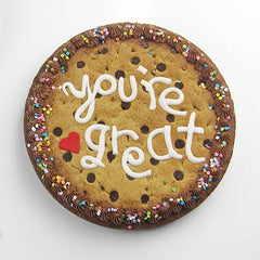 Fondant message template - You're great