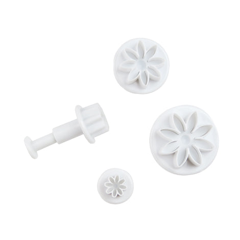 Daisy Fondant Plunger Cutters Set of 4