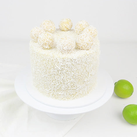 Coconut & Lime Cake