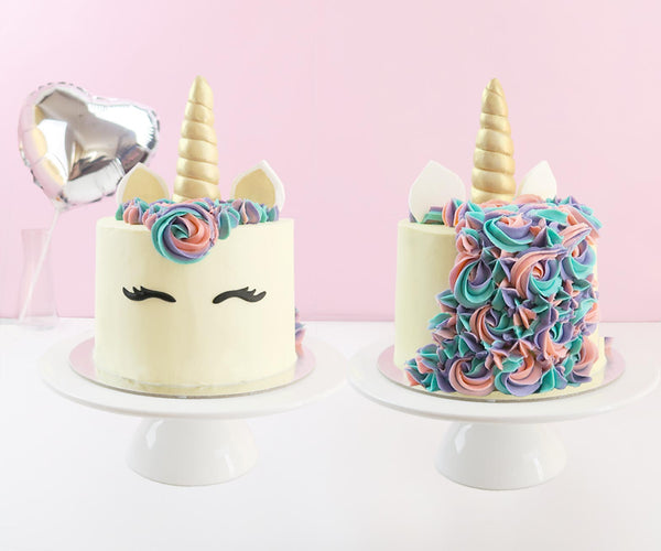 Homemade Unicorn Cake From Scratch