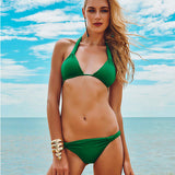 Maryssil - The Deepest Green Brazilian Bikini Bottom, Swimwear, [product_colour]  - ALVESIA