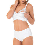 Maternity Nursing Bra with Lace Detail - 2Rios, Bra, [product_colour]  - ALVESIA