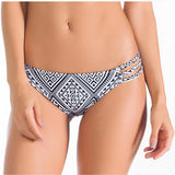 Tribal Low Rise Bikini Bottom, Swimwear, [product_colour]  - ALVESIA
