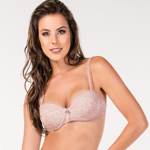 Balconette Lace Bra - 2Rios, Bra, [product_colour]  - ALVESIA
