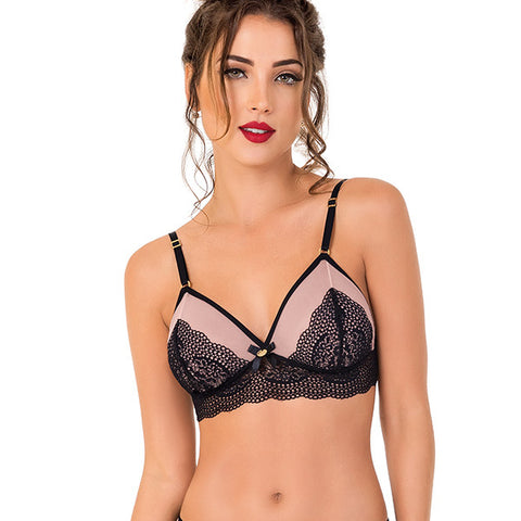 Brazilian Lace Sweetheart Bralette - 2Rios, Bra, [product_colour]  - ALVESIA