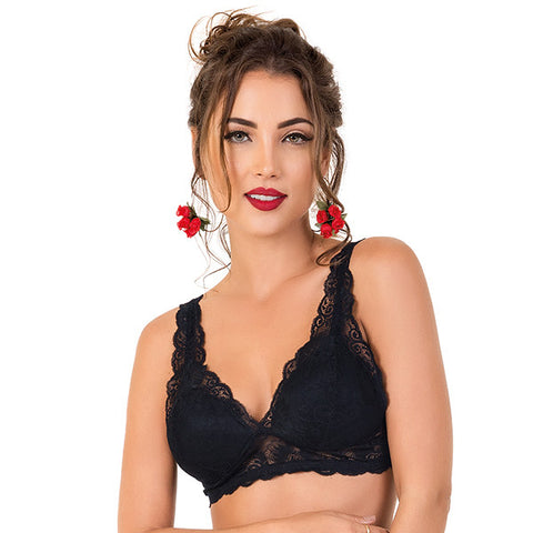 Lace Top with Soft Cup - 2Rios, Bra, [product_colour]  - ALVESIA