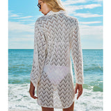 Maryssil - Luxury Swimwear Mesh Cover Up, Swimwear, [product_colour]  - ALVESIA