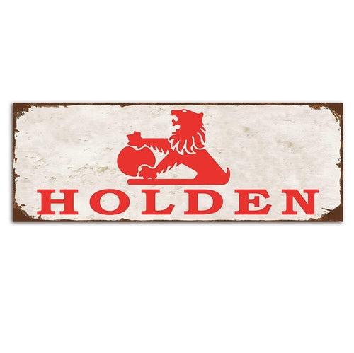 Classic Holden Logo Sign