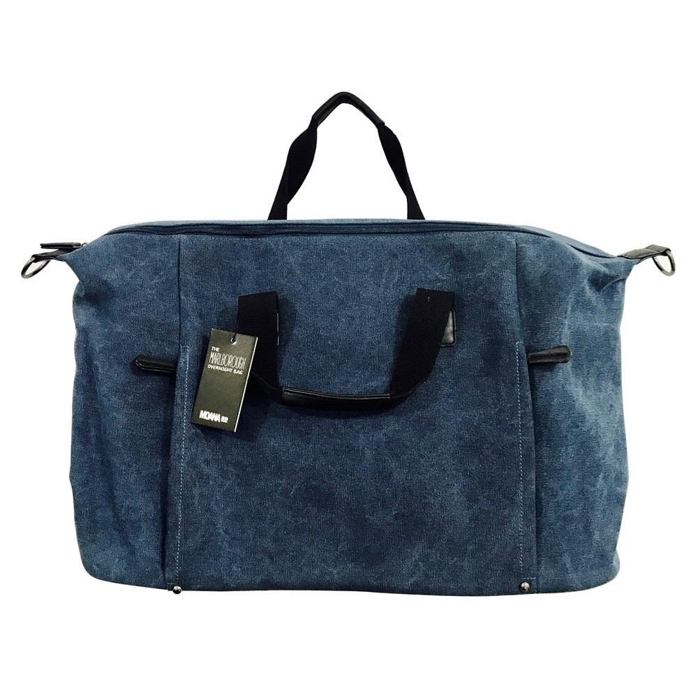 The Marlborough Overnight Bag - Blue