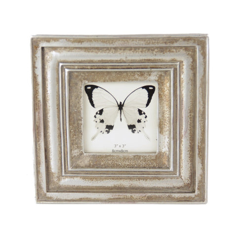 Stepped Classical Photo Frame - Champagne