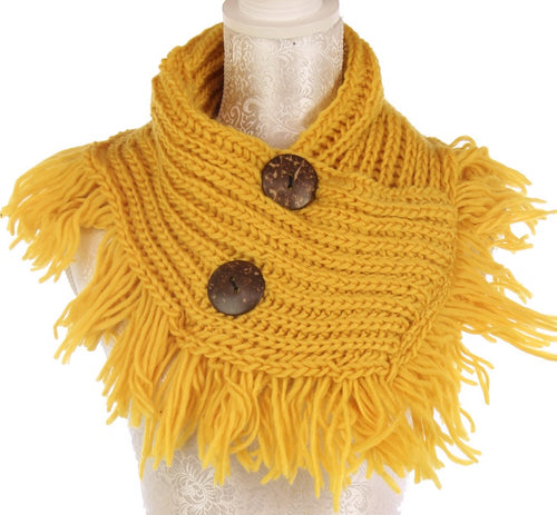 Mustard Button Snood