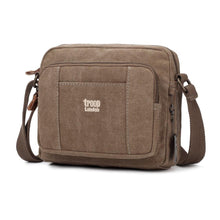Load image into Gallery viewer, Classic Zip Top Small Satchel – Brown