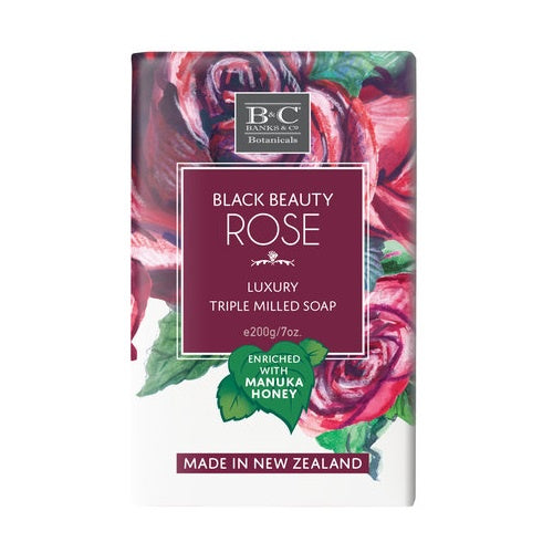 Black Beauty Rose - Soap