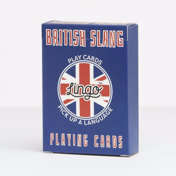 Lingo Playing Cards - British Slang