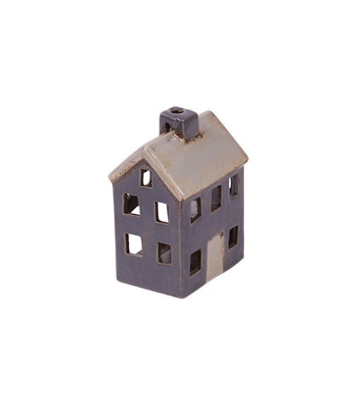 Small Grey Tea Light House