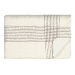 Soft Sherpa Throw - White