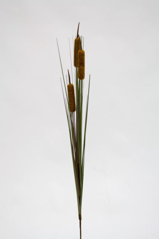 Faux Cat Tail Grass Stem