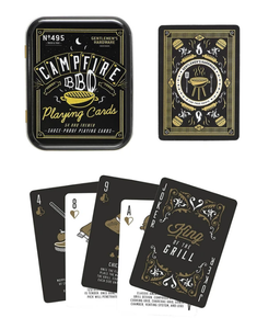 Campfire BBQ Waterproof Playing Cards