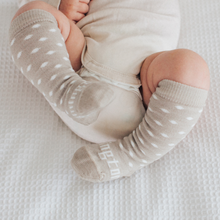 Load image into Gallery viewer, Merino Wool Truffle Baby Socks