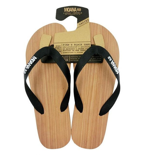 Wood Look Rubber Jandals