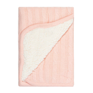 Cotton Baby Blanket - Pink