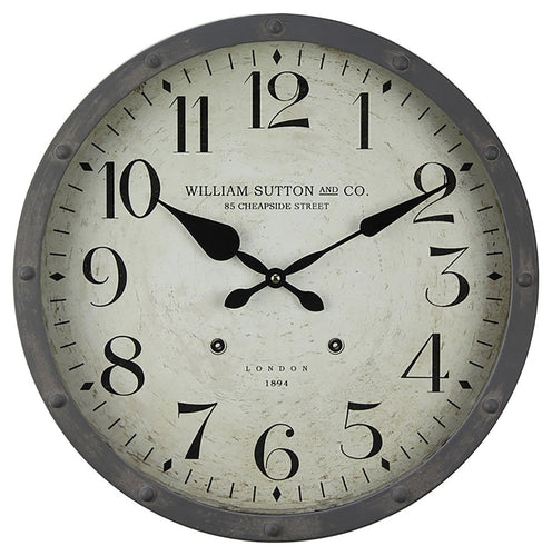 1894 William Sutton Clock