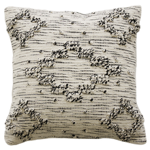 Load image into Gallery viewer, Cliffs Cushion - Cream & Black