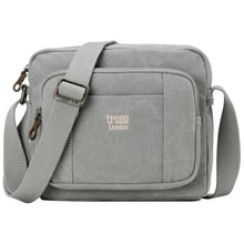 Load image into Gallery viewer, Classic Zip Top Small Satchel - Ash Grey