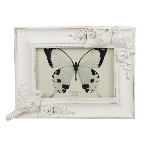 Photo Frame- Doves White