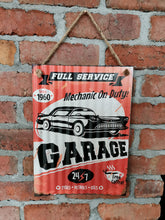 Load image into Gallery viewer, Full Service Garage Sign