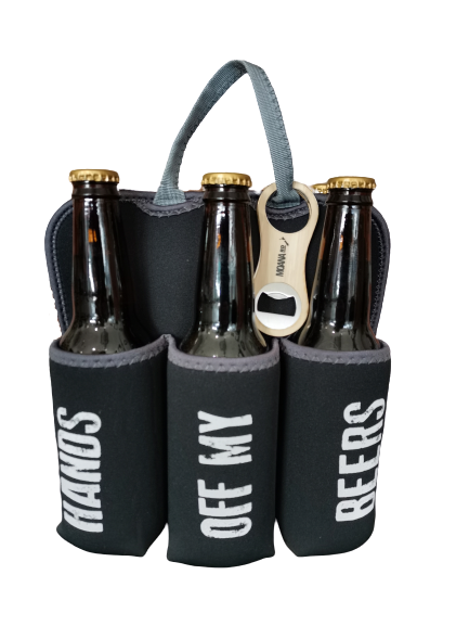 Six Pack Holder - Hands Off My Beer