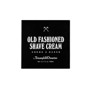 Old Fashioned Shave Cream