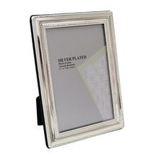 Load image into Gallery viewer, Silver Plated Frame 6×4″