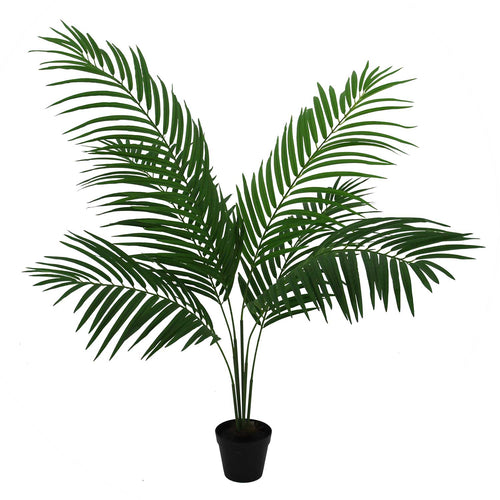 Faux Potted Palm - Medium