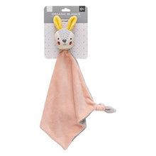 Load image into Gallery viewer, Organic Blankie - Bunny Pink