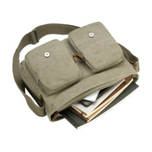 Load image into Gallery viewer, Classic Satchel Bag - Khaki