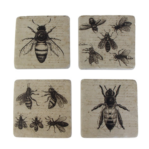 Bee Coaster Set of 4