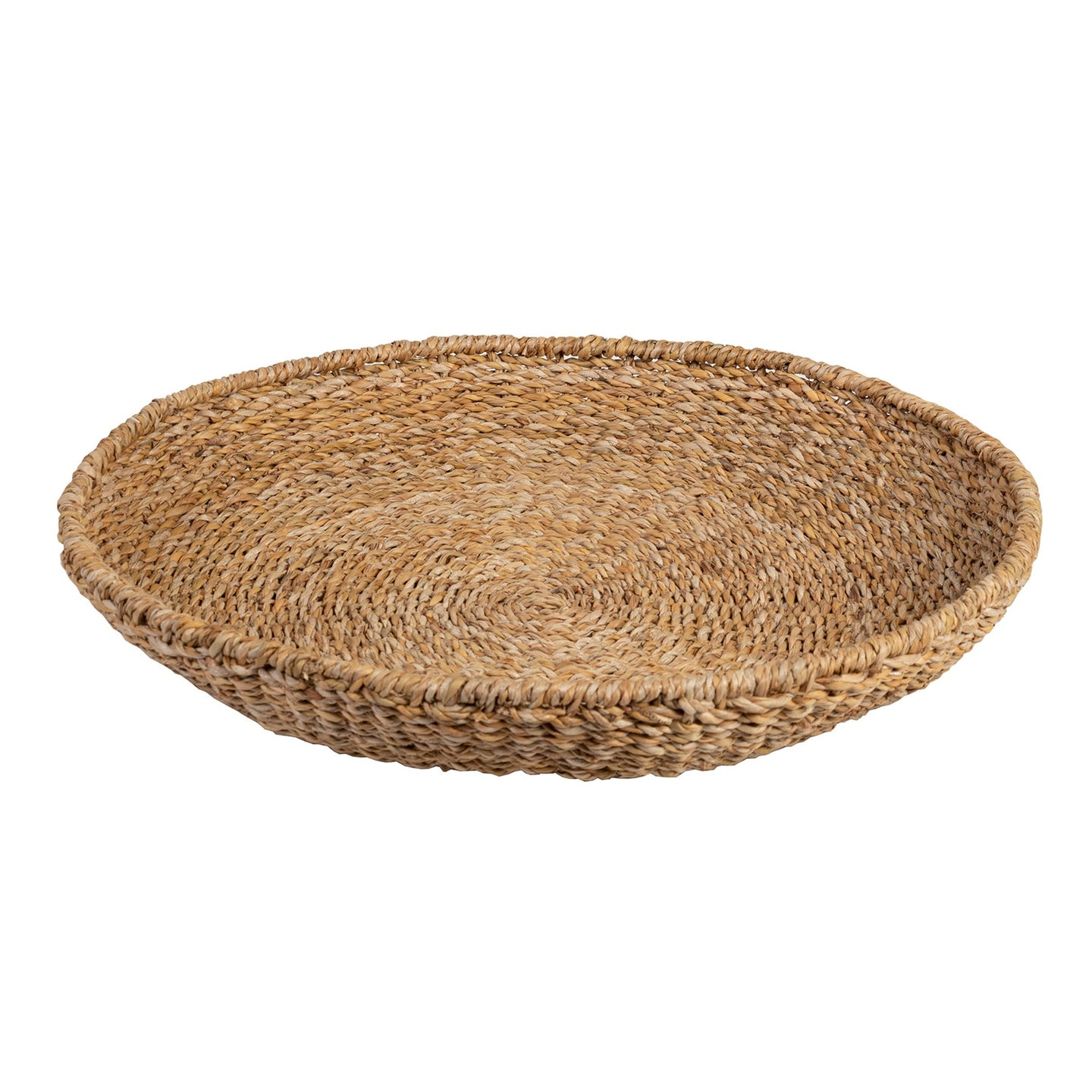 Seagrass Tray Round - Natural