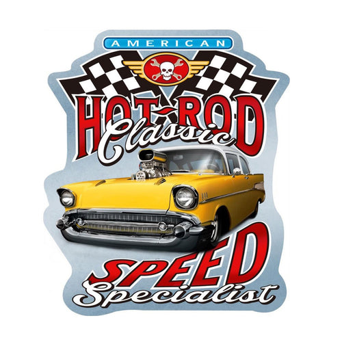 Hot Rod Specialist Wall Plaque