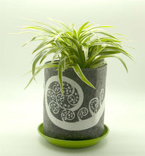 Load image into Gallery viewer, Eco Felt Grow Bag - Kowhai Grey