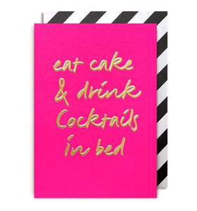 Gift Card - Eat Cake & Drink Cocktails in Bed