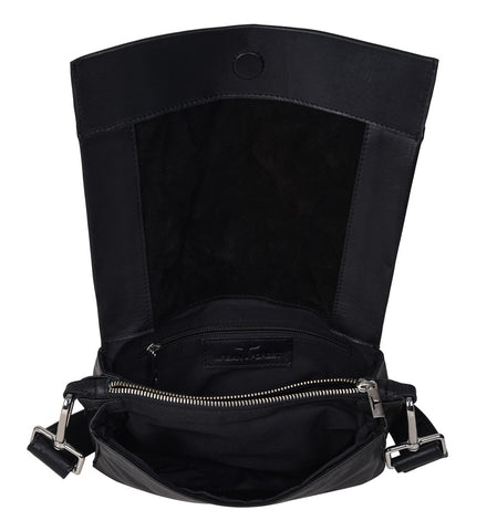 Classic Satchel Bag - Black