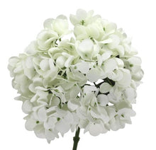 Load image into Gallery viewer, Artificial Hydrangea Stem - White