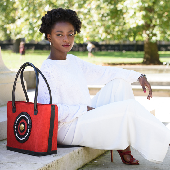 Blogger Novelty Eye gets creative with Maasai Colour