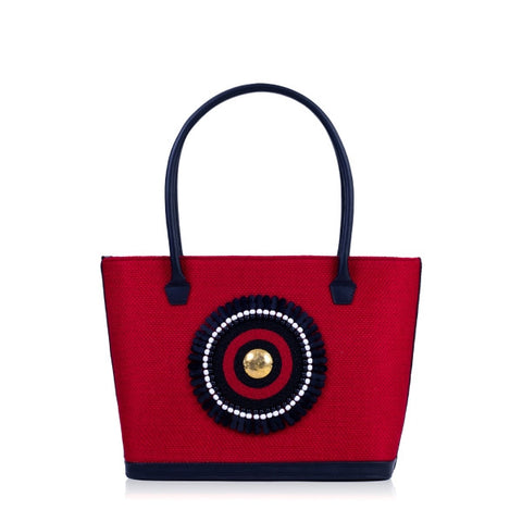 Red Tote Bag - Mara